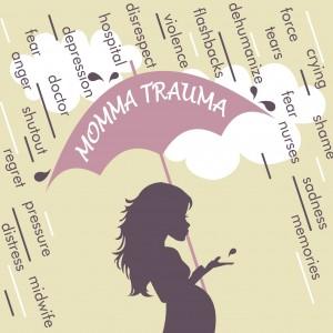 MOMMA TRAUMA logo