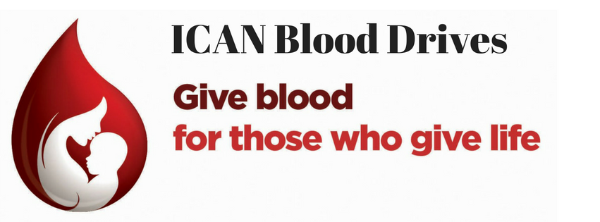 ICAN Blood Drives