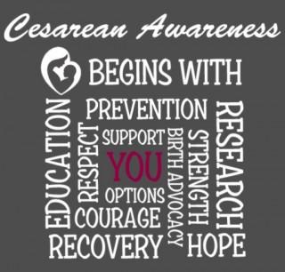 Cesarean Awareness begins with... YOU!